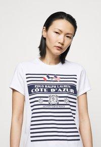 Polo Ralph Lauren - Print T-shirt - white - 4