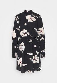 ONLY - ONLWINNER HIGHNECK DRESS - Day dress - black - 3