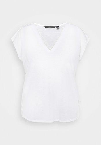 VMCARRIE - Basic T-shirt - snow white