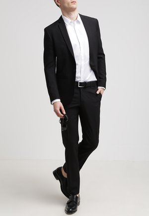 M. CHRISTIAN COOL WOOL - Suit jacket - black