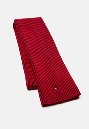DOUBLE SCARF UNISEX - Scarf - navy/red
