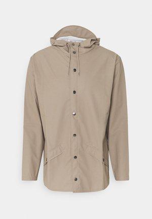 JACKET UNISEX - Summer jacket - taupe