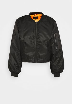 UNISEX JACKET - Giubbotto Bomber - black