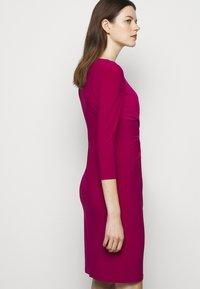 Lauren Ralph Lauren - MID WEIGHT DRESS - Shift dress - modern dahlia - 4
