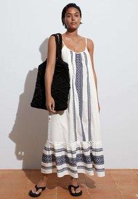 OYSHO - STRAPPY  - Day dress - white - 1