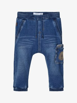 NBMBOB BABY - Broek - medium blue denim