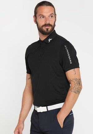 TOUR TECH - Sports shirt - black