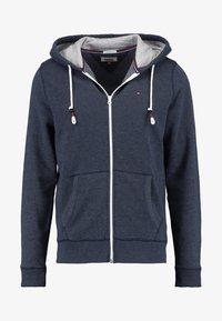 ORIGINAL ZIPTHRU - Zip-up hoodie - black iris