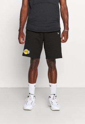 NBA TEAM LOGO SHORT LOS ANGELES LAKERS - Artykuły klubowe - black