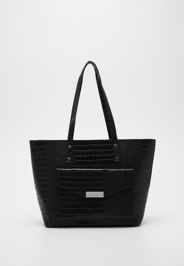 HUNTER - Tote bag - black