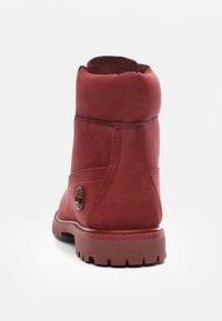 Timberland - PREMIUM BOOT  - Veterboots - red - 3