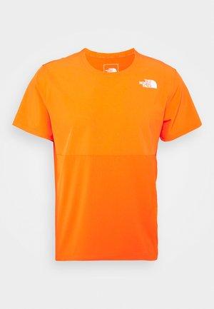 TRUE RUN - Print T-shirt - flame