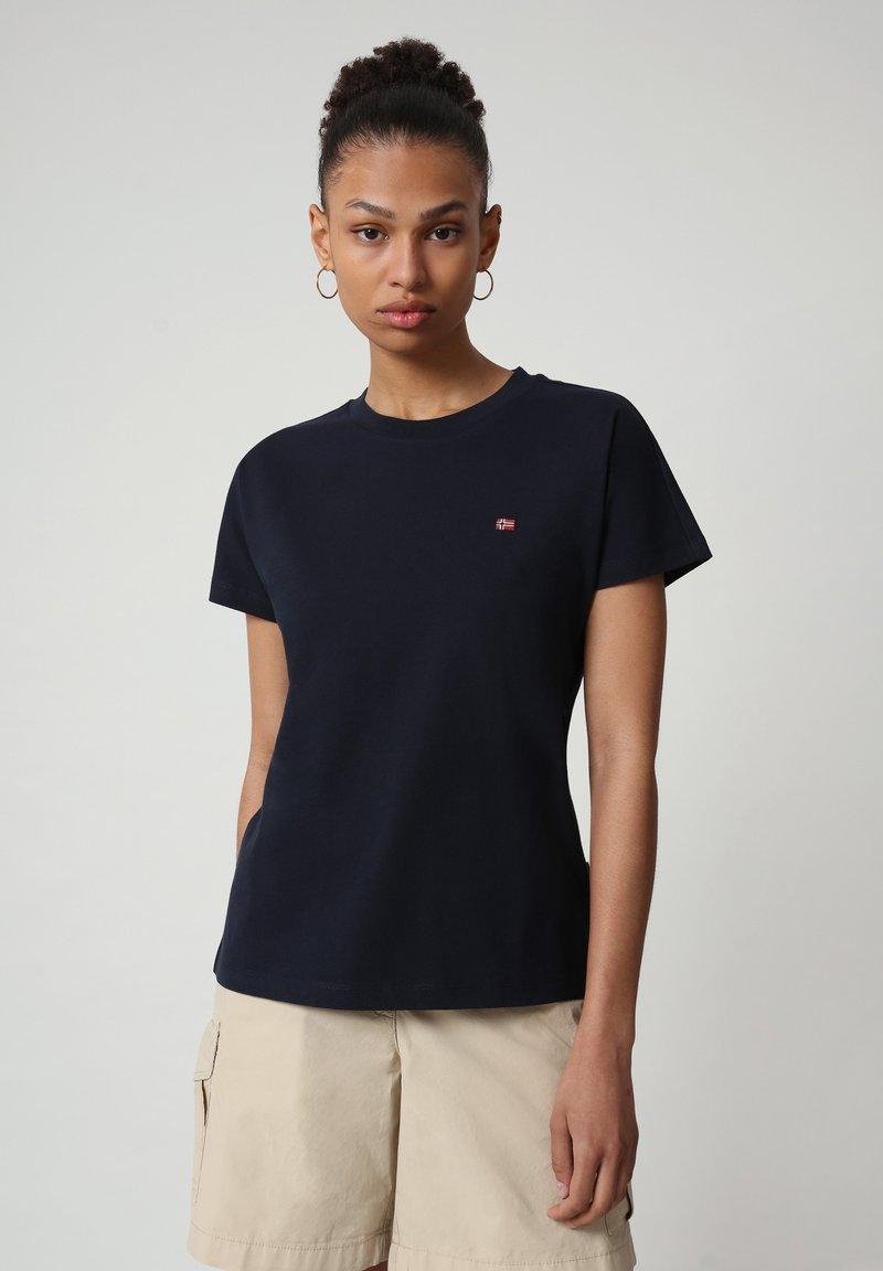 Napapijri - SALIS - T-shirt - bas - blu marine