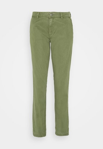 Chino kalhoty - smaragd