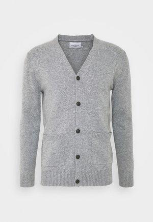 SEAN - Cardigan - light grey melange