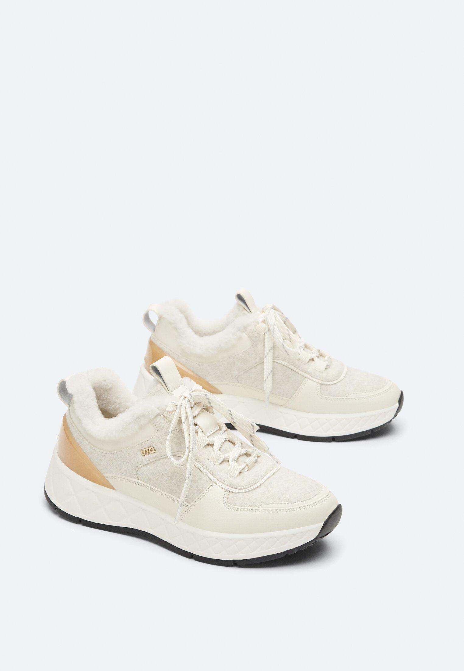 Uterqüe Sneaker low white/weiß