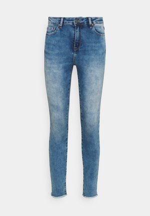 TROUSERS HIGH WAIST - Jeans Skinny Fit - blue