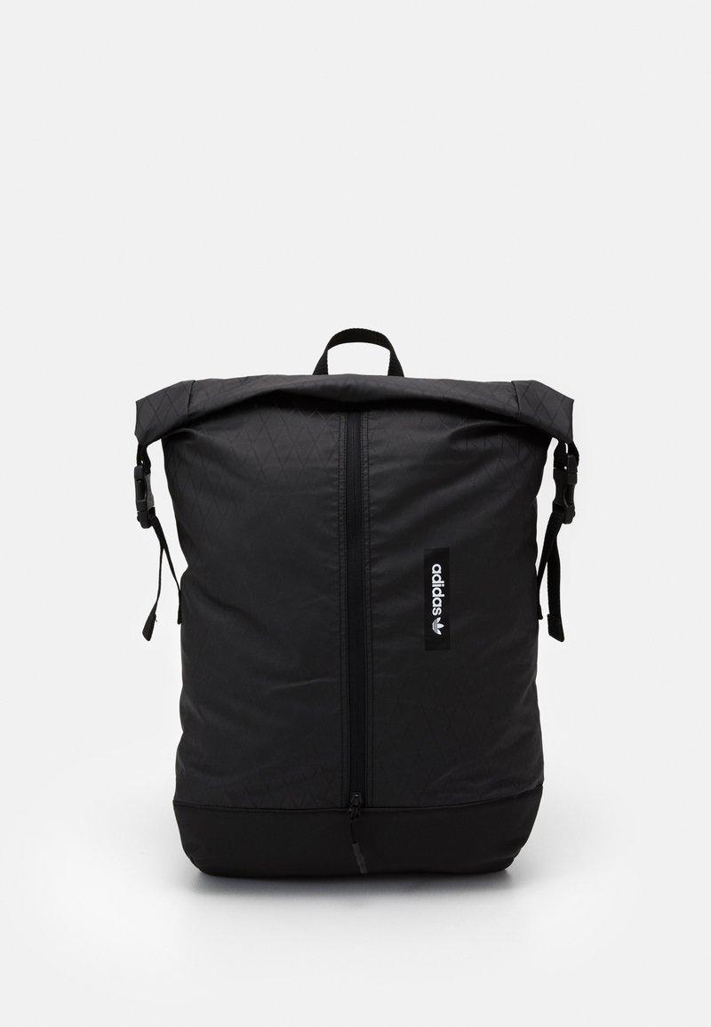 adidas Originals - ROLLTOP UNISEX - Rucksack - black