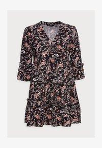 Vero Moda Petite - VMSIMPLY EASY SHORT DRESS - Denní šaty - black - 4