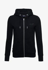 Superdry - ORANGE LABEL ZIP HOODIE - Zip-up hoodie - black - 4