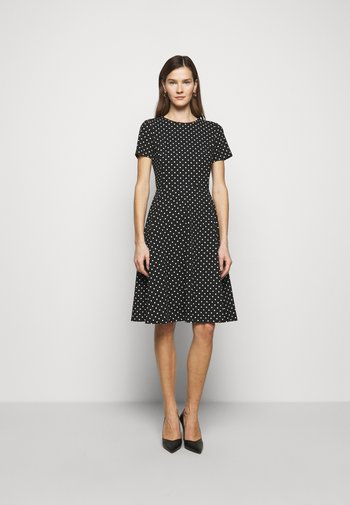 PRINTED TECH DRESS - Vapaa-ajan mekko - black