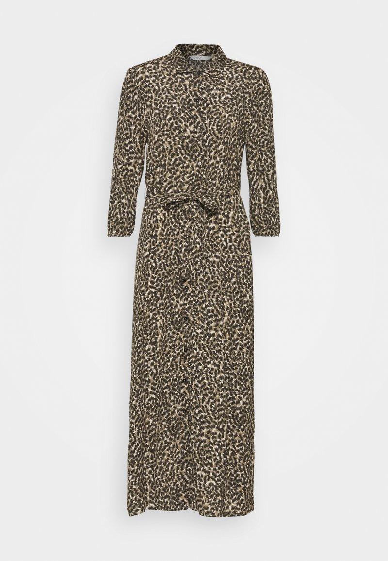 ONLY - ONLANNEMONE MIDI DRESS  - Maxi dress - pumice stone/sunset
