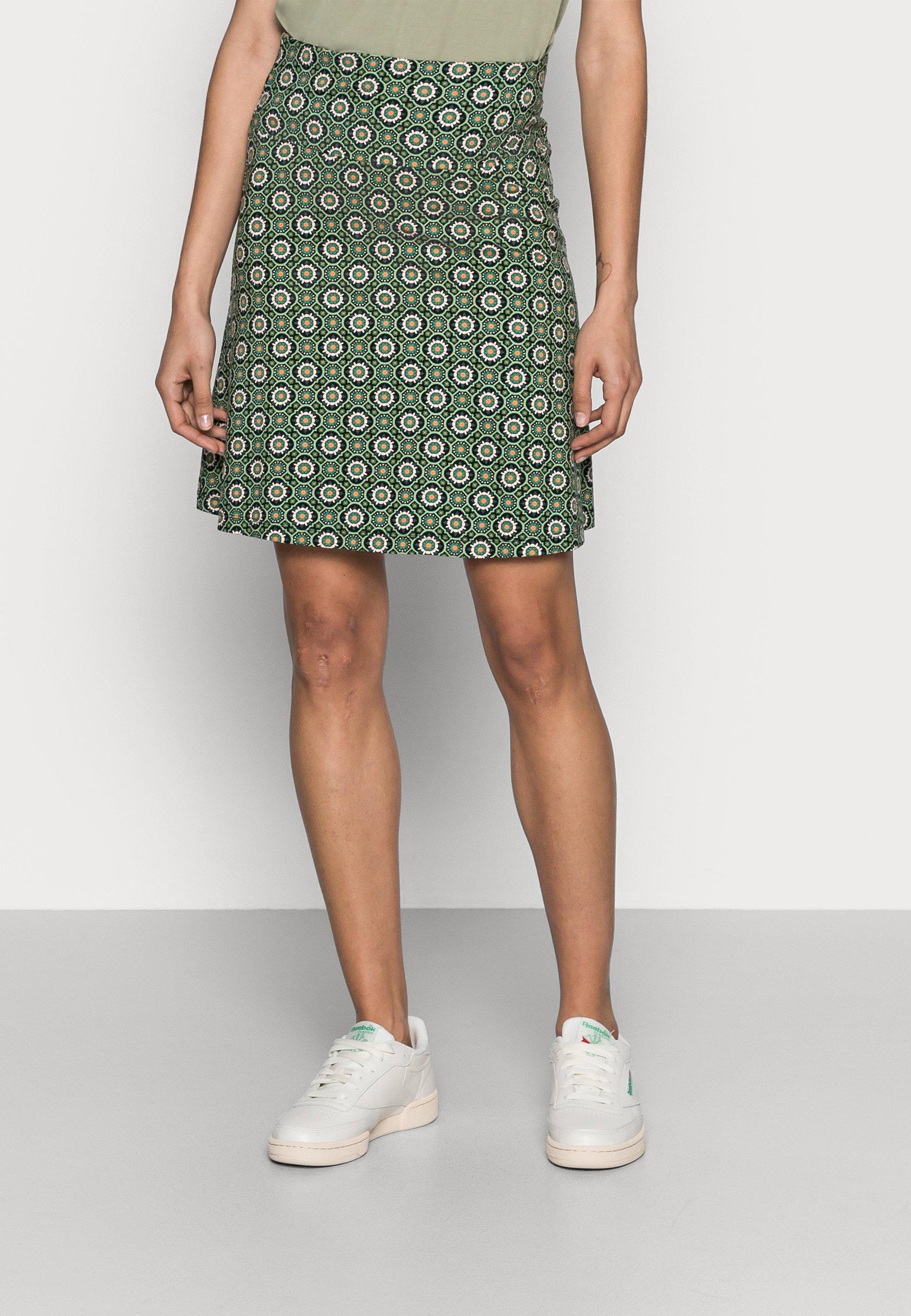 Women BORDER SKIRT TIMBA - A-line skirt