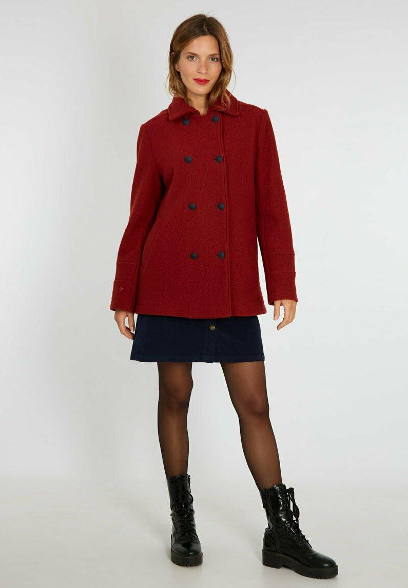 Armor lux - MARINIERE - Short coat - auburn