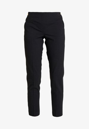 PAULINE SOFT - Trousers - anthracite