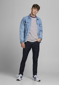 Jack & Jones - JJELONG  - Long sleeved top - cloud dancer - 1