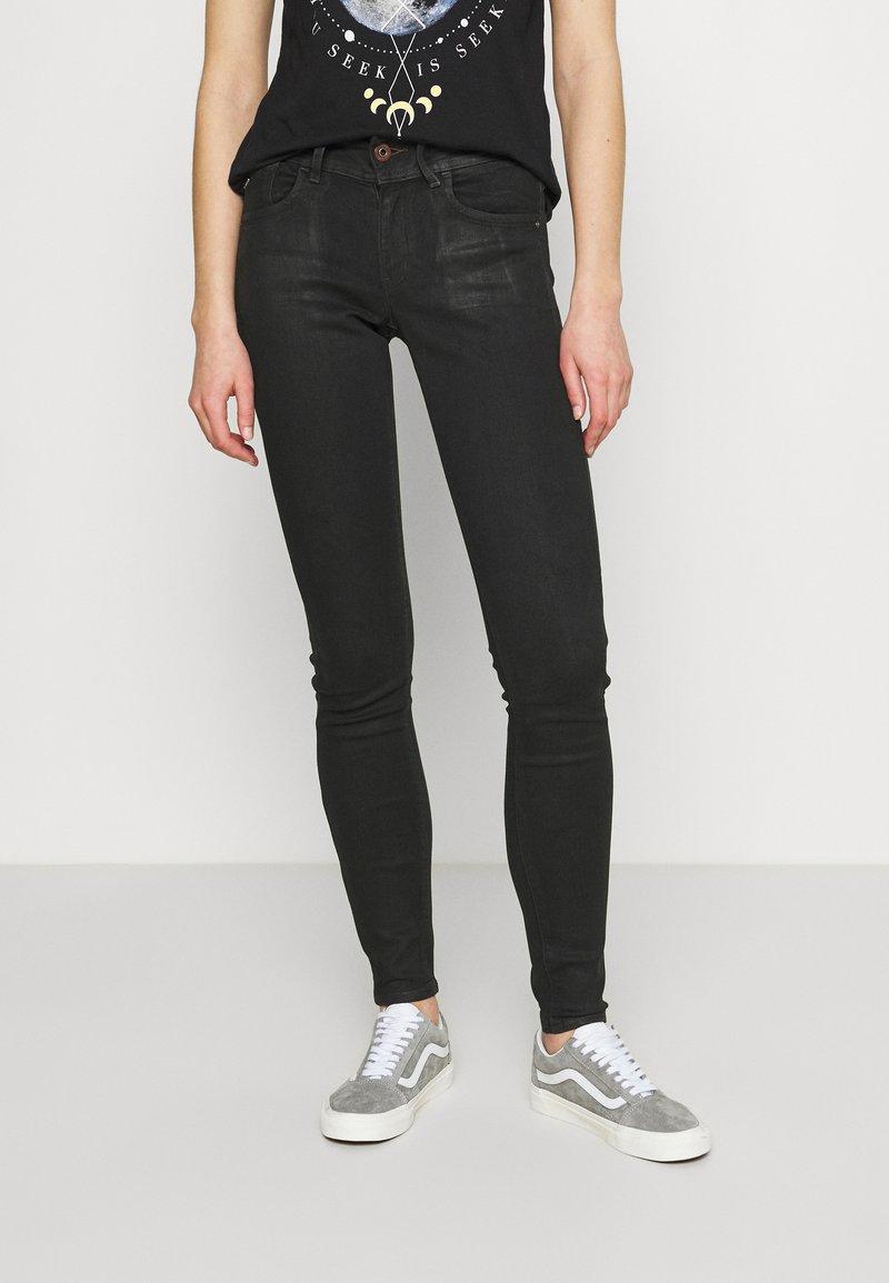 G-Star - LYNN MID SKINNY WMN - Jeans Skinny Fit - black radiant cobler