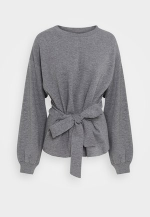 WILMA TIEBELT - Sweater - dark grey melange
