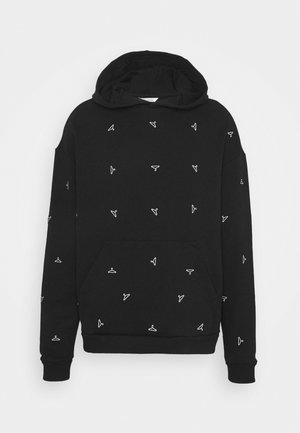 RAINBOW HANGER HOODIE - Sweatshirt - black