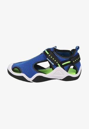 Walking sandals - royal fluogreen c
