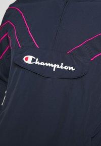 Champion - ROCHESTER ATHLEISURE HALF ZIP - Kurtka sportowa - dark blue - 6