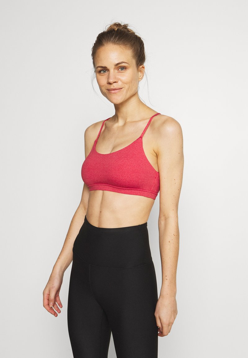 Cotton On Body - SO SOFT RACER CROP - Sport BH - rio red marle