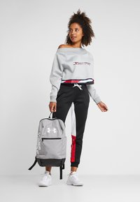 Tommy Hilfiger - CROP WITH TAPE - Sweat polaire - grey - 1