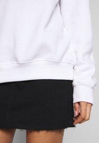 Missguided - BASIC OVERSIZED  - Sweatshirt - white - 3