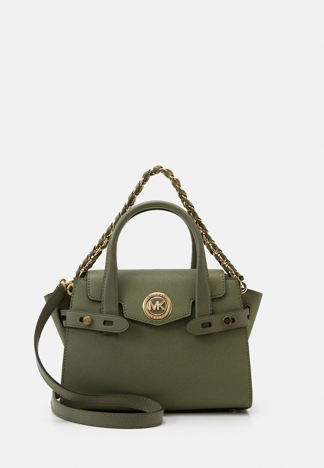 CARMENXS FLAP - Sac à main - army green