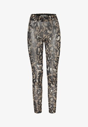 IXMESHU LE - Leggings - cornstalk multi print