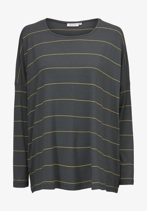 Long sleeved top - oil yellow