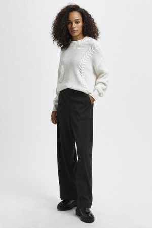 Trousers - black deep