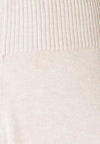 Lounge Nine - LNMALLORY PANTS - Trousers - pastel parchment melange - 2