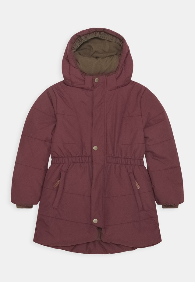 WITTA JACKET - Cappotto invernale - catawba grape