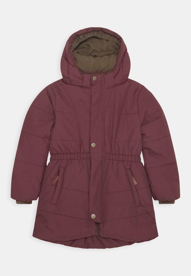 MINI A TURE - WITTA JACKET - Zimní kabát - catawba grape