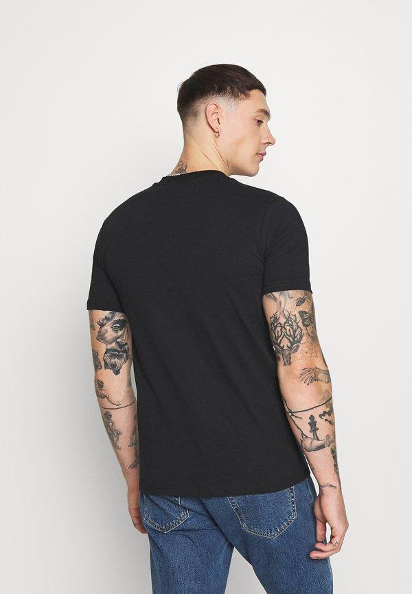 274 ROSE - T-shirt z nadrukiem - black/czarny Odzież Męska NPZQ