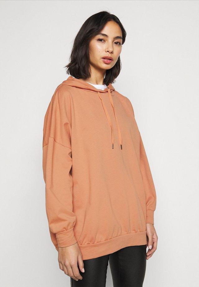NMELLA BELIEVE OVERSIZE  - Sweatshirt - praline