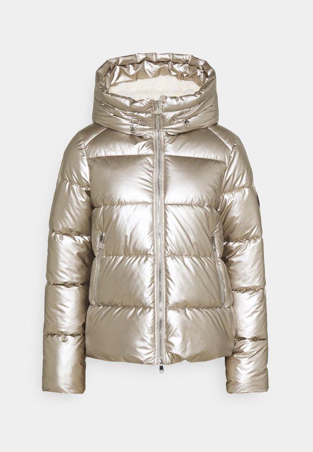 MATT AXIS QUILT - Winterjas - white gold/silver