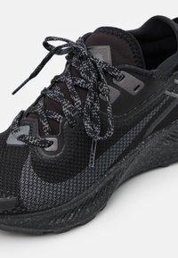 Nike Performance - PEGASUS TRAIL 2 GTX - Trail running shoes - black/iron grey/metallic dark grey - 5