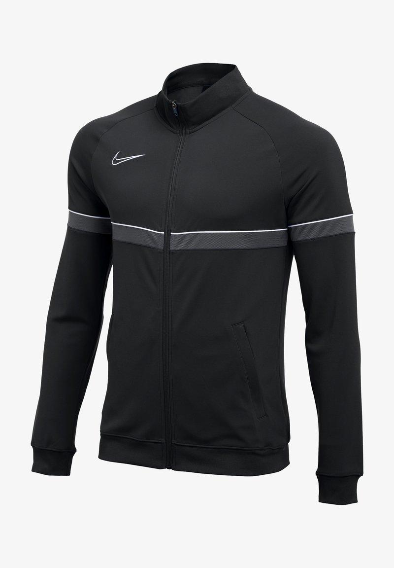 Nike Performance - ACADEMY - Training jacket - schwarzweissgrau